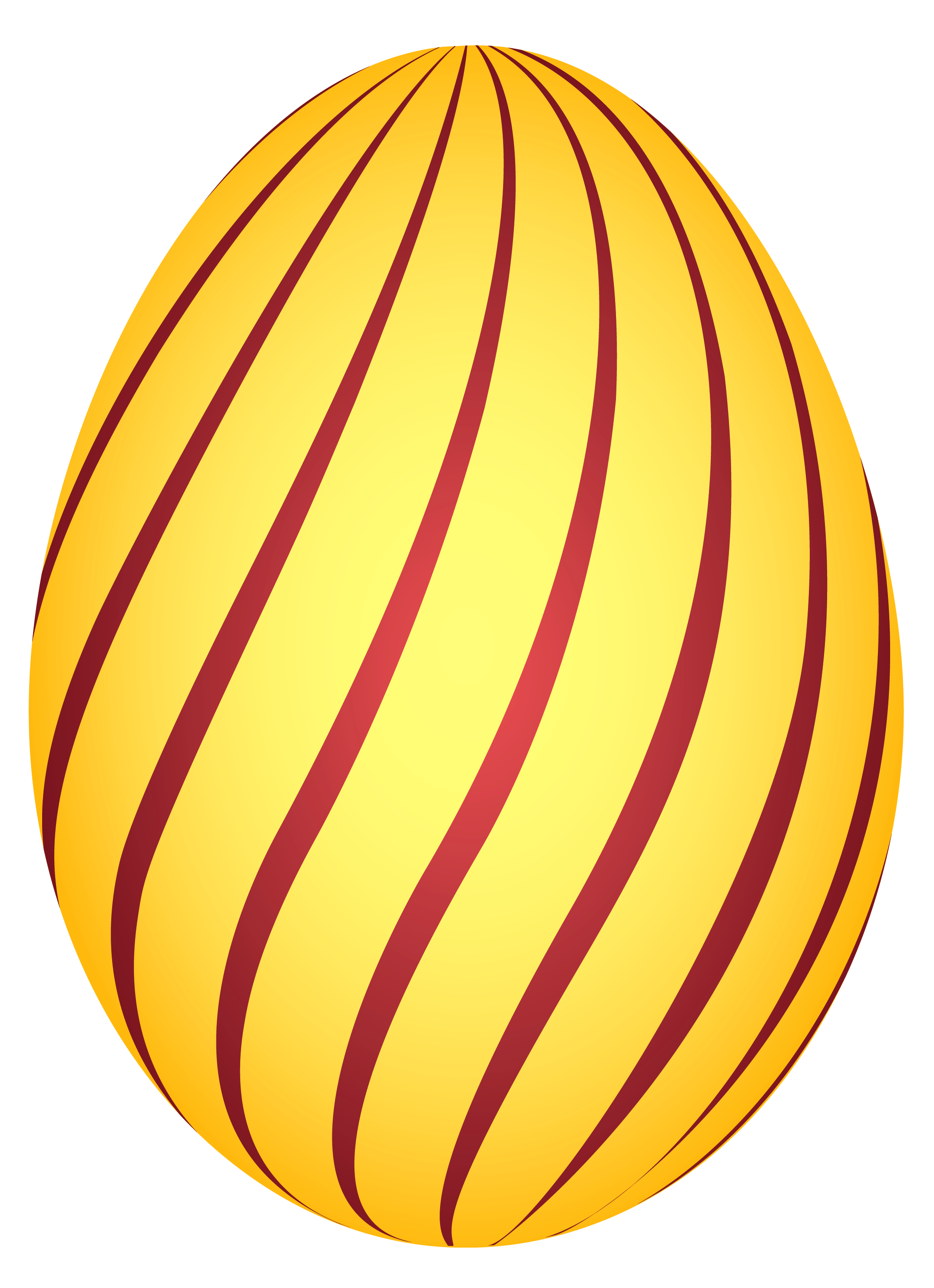2150x2966 Yellow Striped Easter Egg Png Clipairt Pictureu200b Gallery