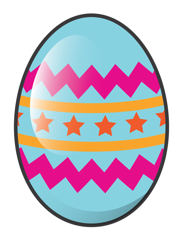 700x909 Cartoon Easter Eggs Clip Art