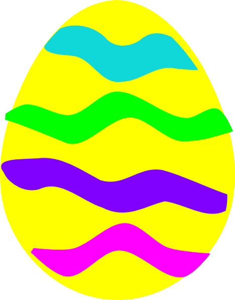 468x597 Easter Egg Clip Art At Clkercom Vector Online Royalty Clipart
