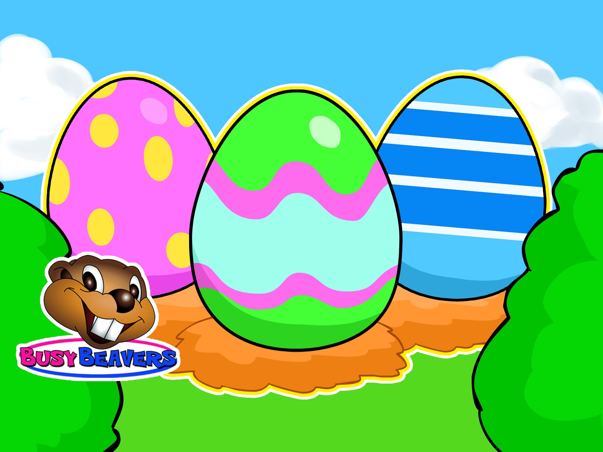 1920x1440 Easter Egg Hunt Surprise Eggs Hunting Game Kids Interactive