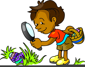 300x234 Easter Egg Hunt Clipart Free Images