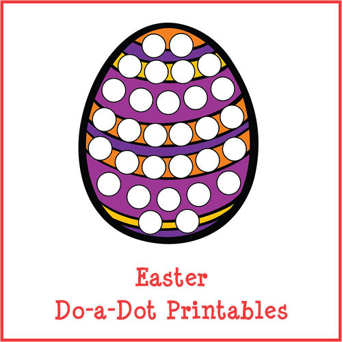 500x500 Easter Do A Dot Printables