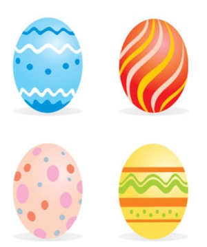 300x359 Free Printable Easter Egg Shapes Hd Easter Images
