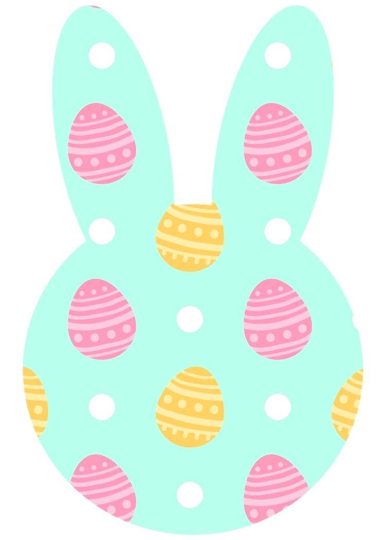 750x1050 Printable Different Printable Easter Bunnies