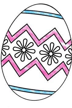 236x354 Color Bright Easter Egg Stickers 48pc Wally's Party Factory