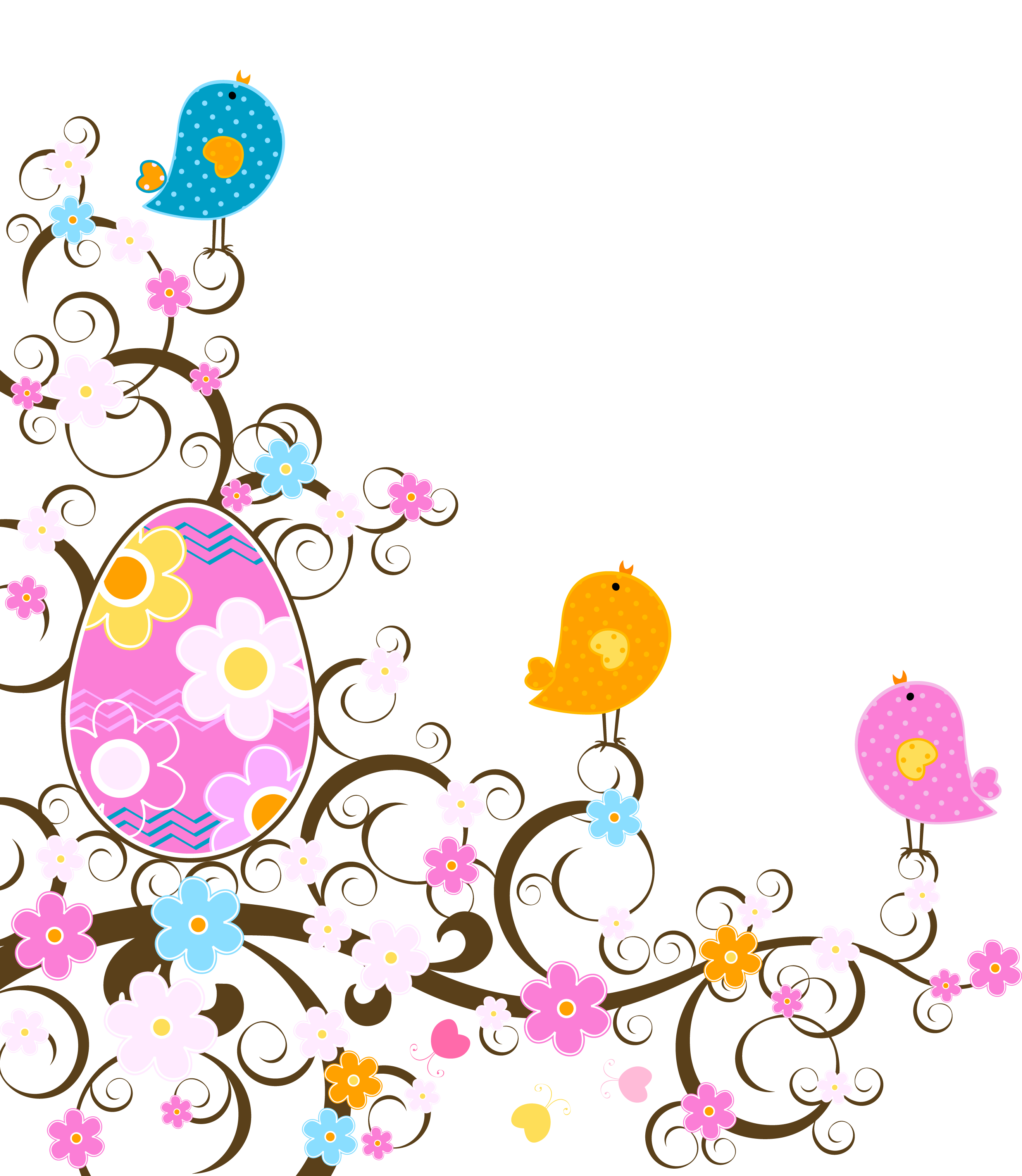 2637x3034 Easter Decoration With Flowers Png Transparent Clipartu200b Gallery