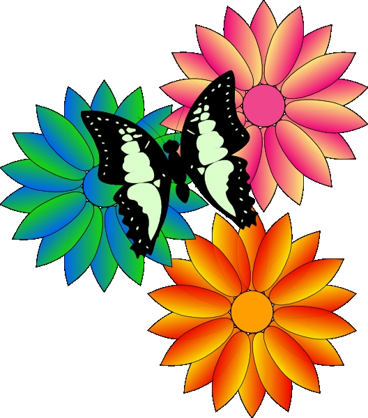 528x600 Free Clipart For Flowers