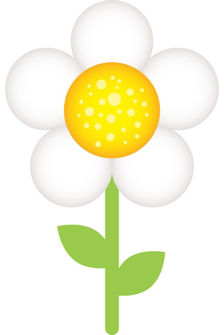 736x1100 Spring Flowers Clipart Happy Easter 2018 Lively Flower Images