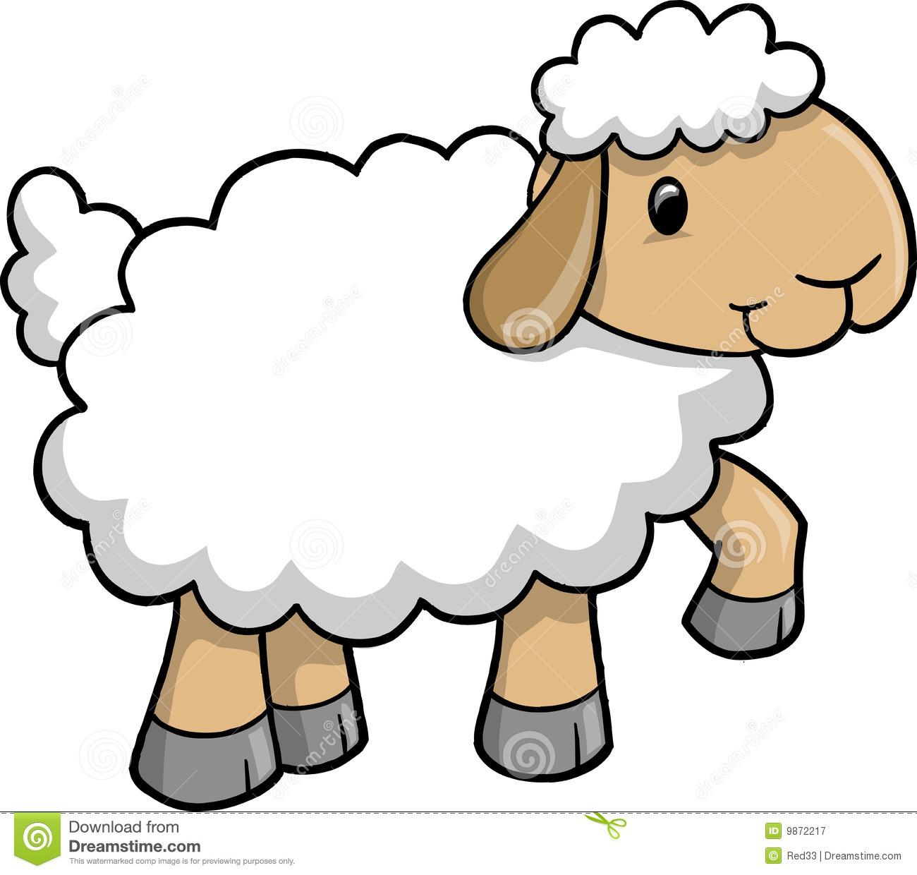 1300x1240 Clipart Lamb