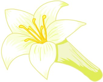 easter lily clipart at getdrawings com free for personal use rh getdrawings com easter lily clipart free easter lily clip art border
