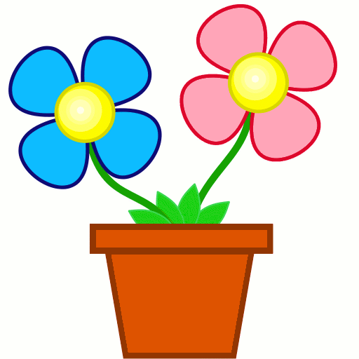 512x512 Flower Clipart Picture