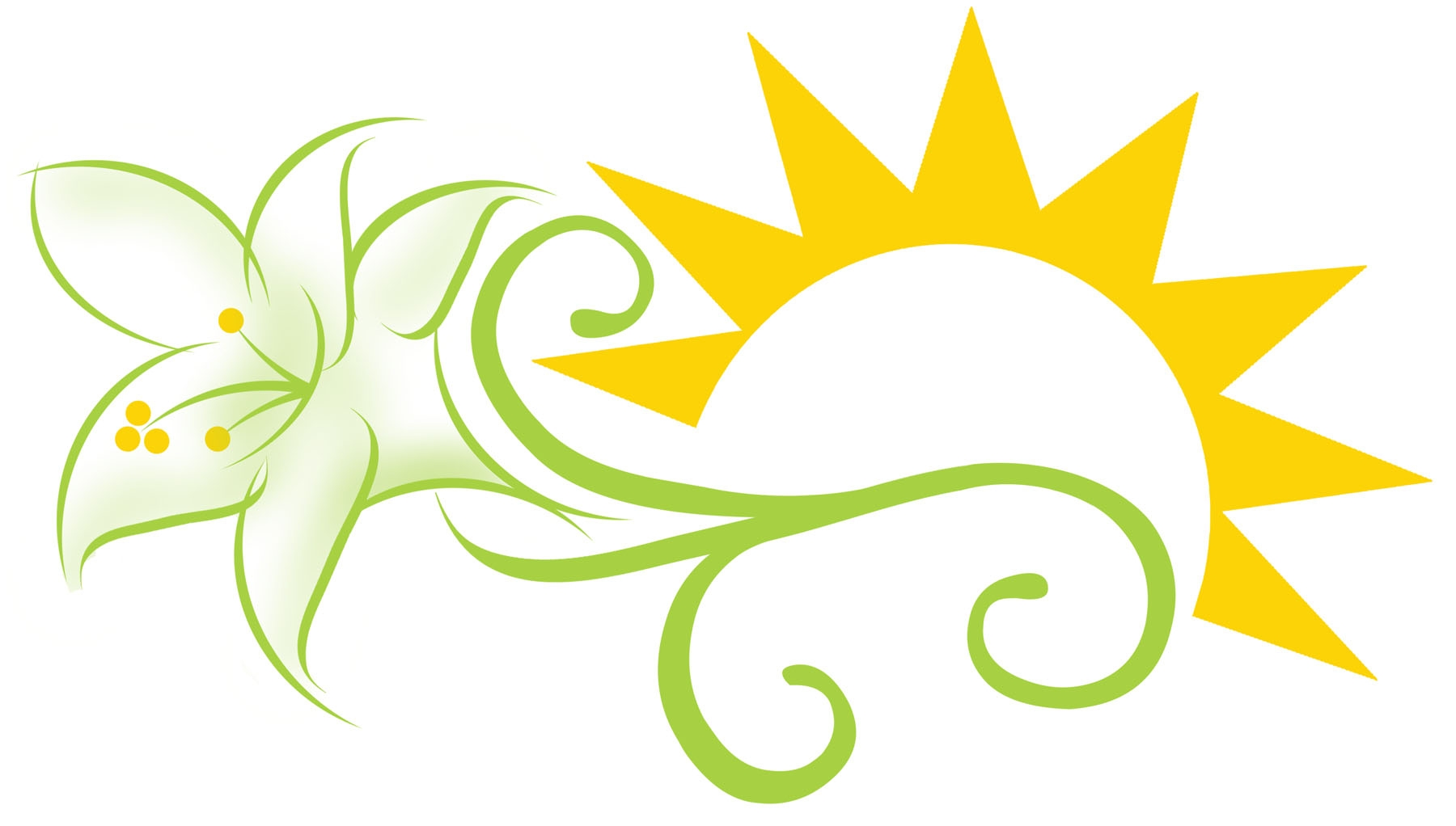 1800x1022 New Easter Lily Clipart Gallery