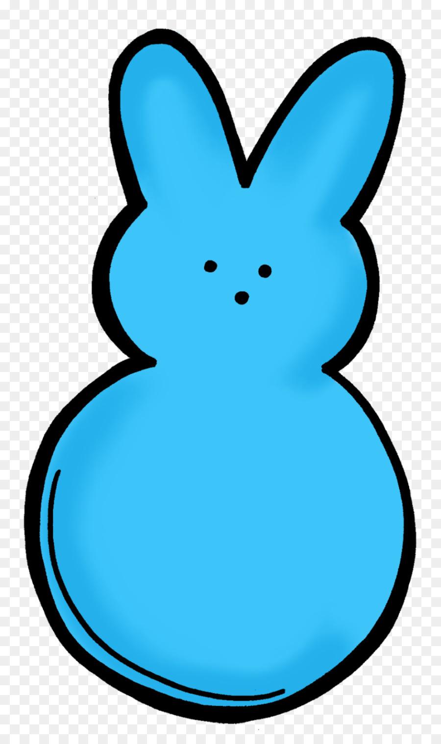 900x1520 Easter Bunny Rabbit Peeps Clip Art
