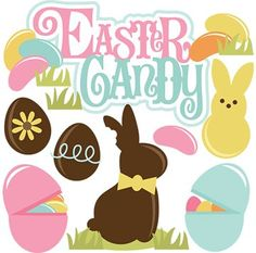 236x233 Easter Candy Clipart