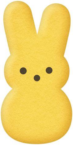236x466 Pastel Light Yellow Peeps Clipart