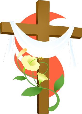 340x471 Easter Cross Clip Art