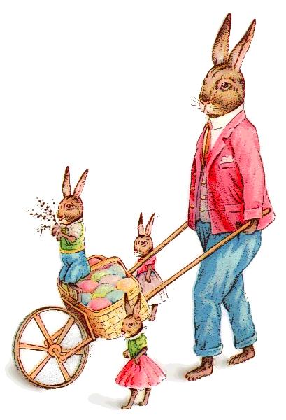 409x600 Easter Bunny Clip Art