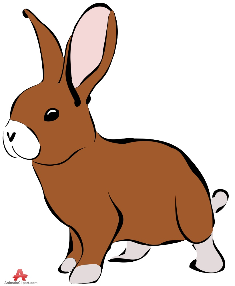 easter rabbit clipart at getdrawings com free for personal use rh getdrawings com clip art rabbit pictures clip art rabbit footprints