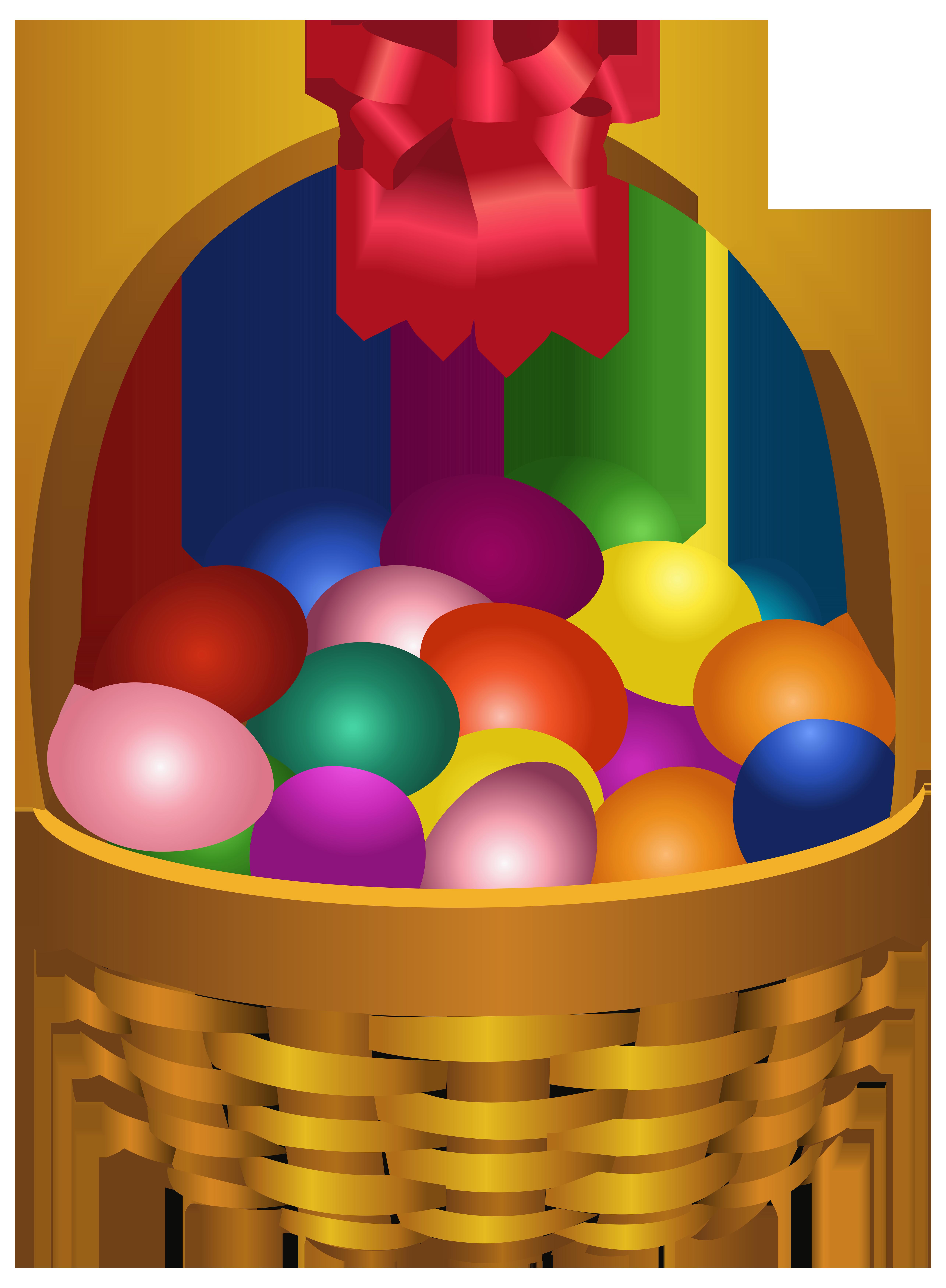 5142x7000 Easter Eggs In Basket Transparent Png Clip Art Imageu200b Gallery