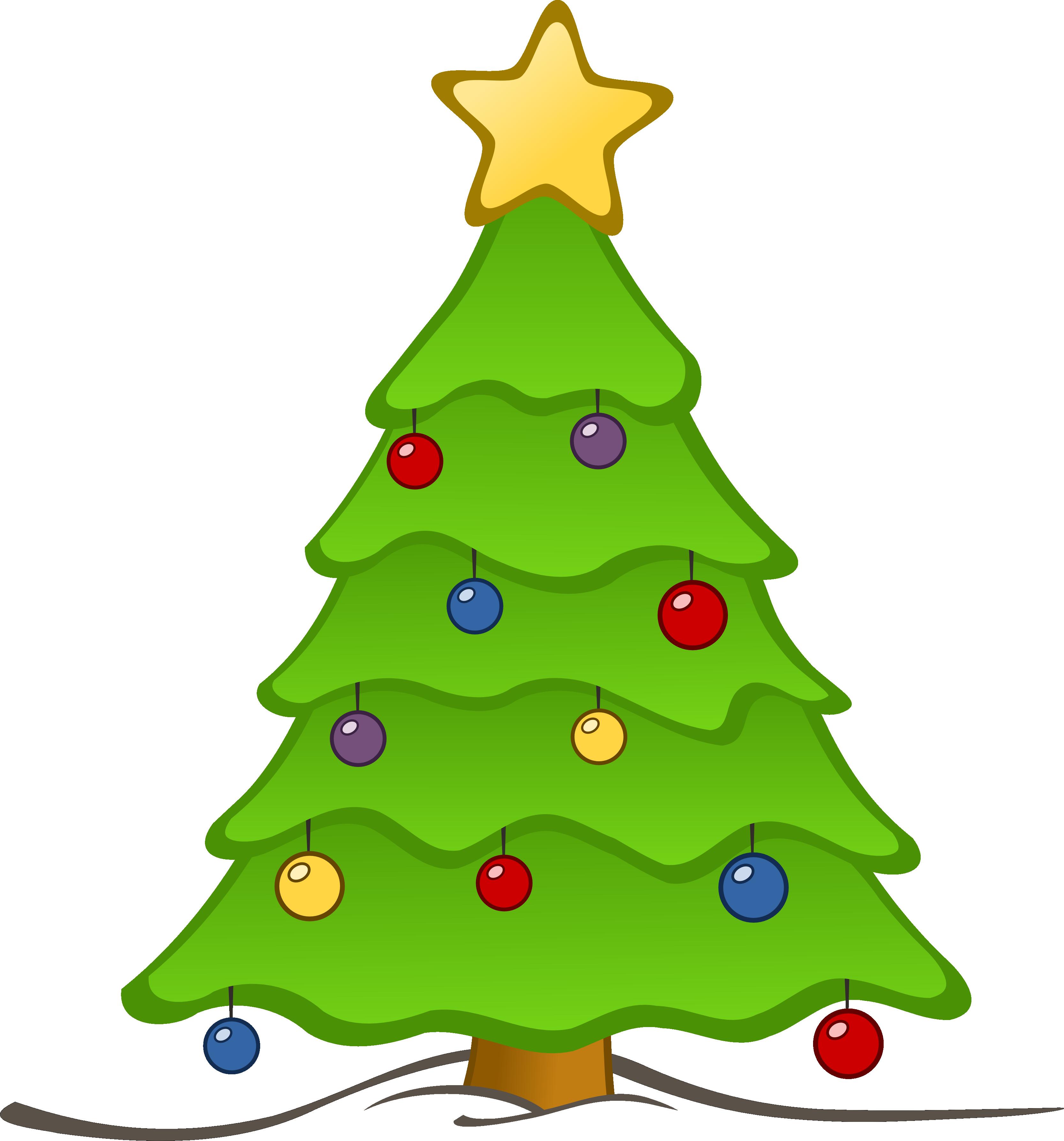 3333x3575 Christmas Tree Clip Art Free Clipart Panda