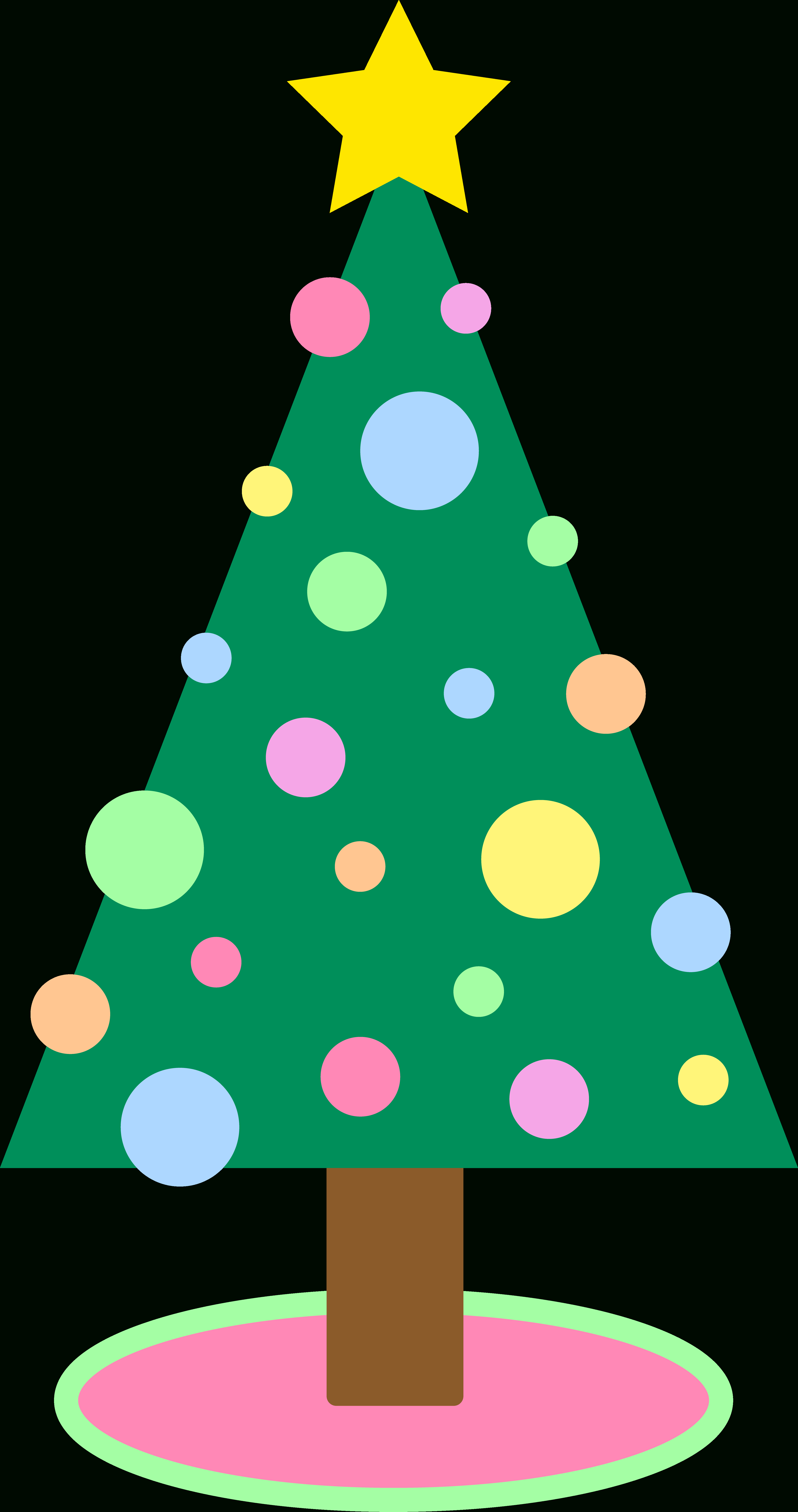 4150x7856 Cute Christmas Tree Drawing Christmas Tree Clip Art To Download
