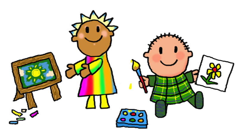 802x442 Children Painting Clipart children painting pictures free download