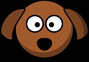 299x210 Dog Head Clip Art