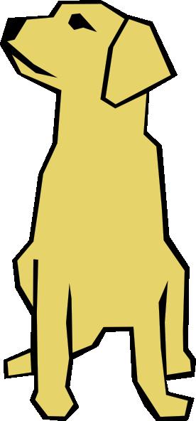 276x592 Dog Simple Drawing Clip Art