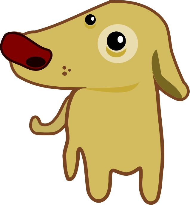 637x686 Perro Clipart Simple Dog