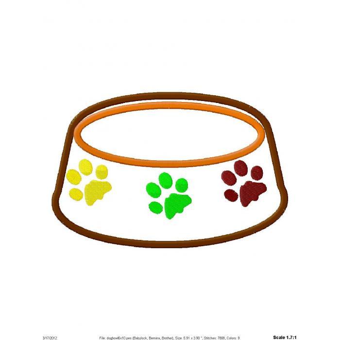 700x700 Bowl Clipart Doggy