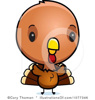 400x420 Cute Baby Turkey Clipart Clipart Panda