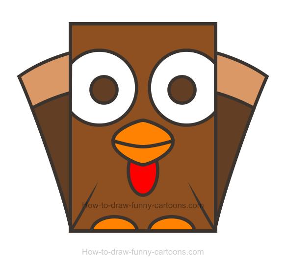 583x543 Turkey Clipart