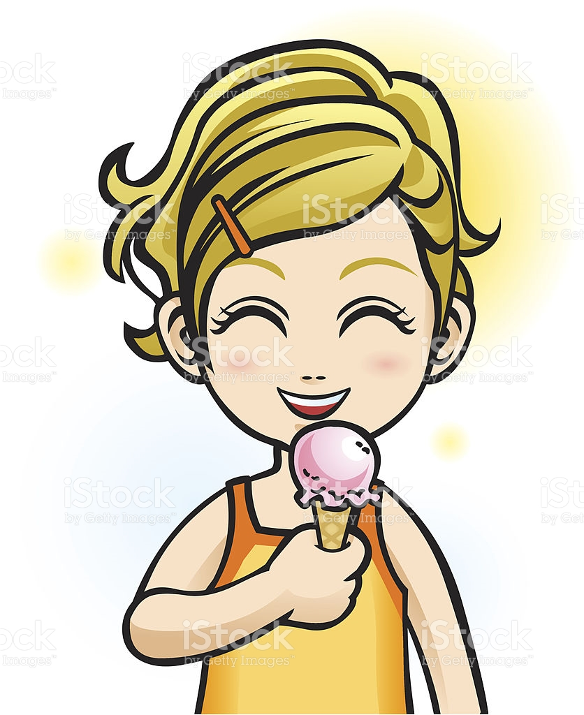 836x1024 Girl Eating Ice Cream Clipart Clip Art Image