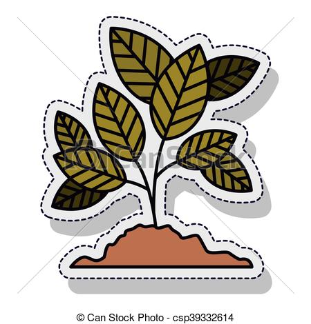 450x470 Tree Plant Ecology Isolated Cion Vector Illustration Design Vector