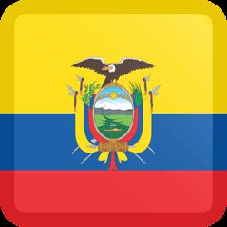 250x250 Ecuador Flag Clipart