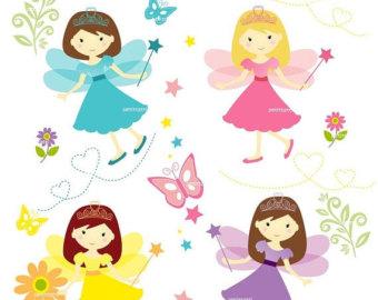 340x270 Fairy Clipart Etsy
