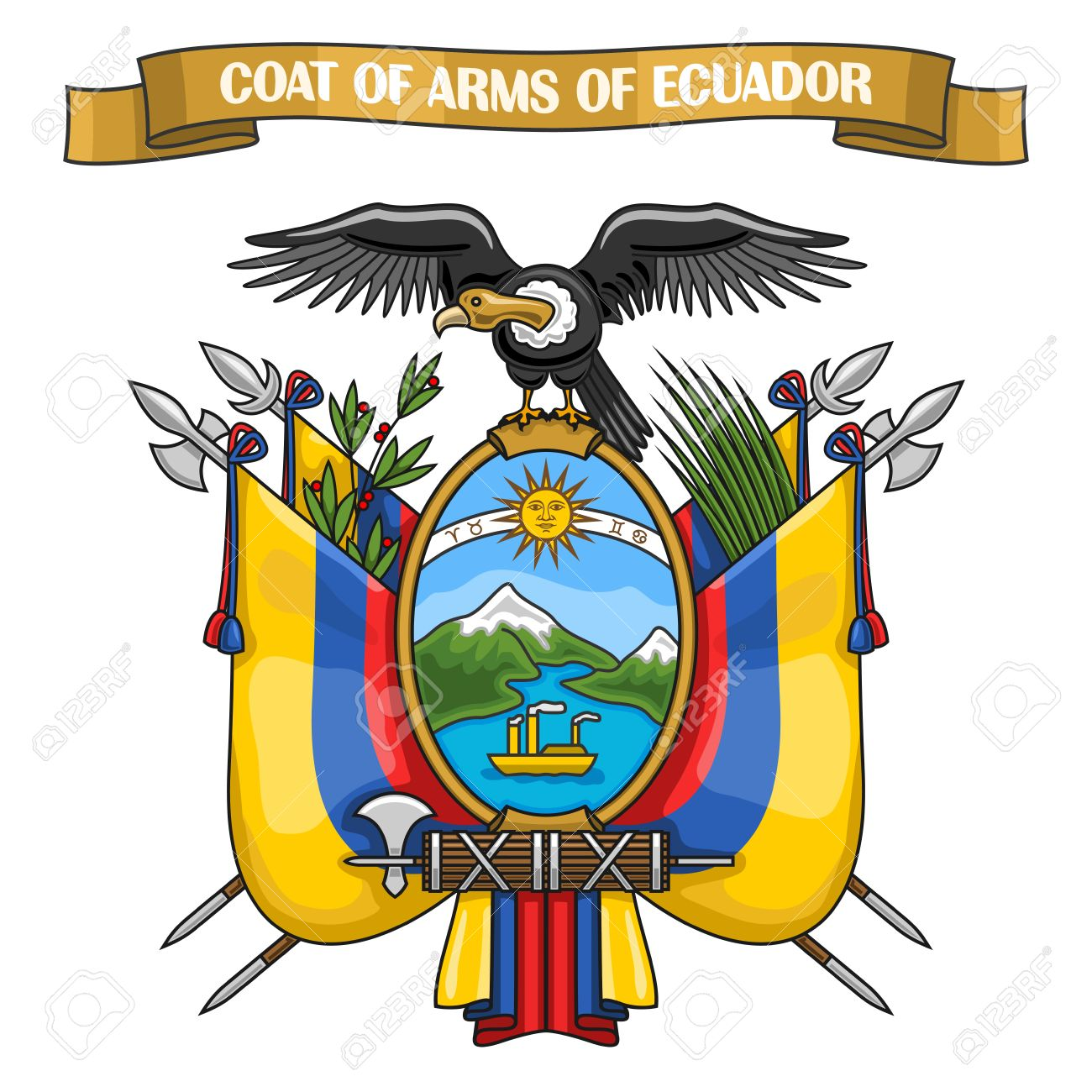 1300x1300 Flags Clipart Ecuadorian