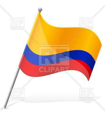 362x400 Wavy Flag Of Ecuador Royalty Free Vector Clip Art Image