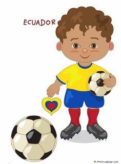 236x320 Brazil National Jersey, Cartoon Soccer Player Kids Clip Art