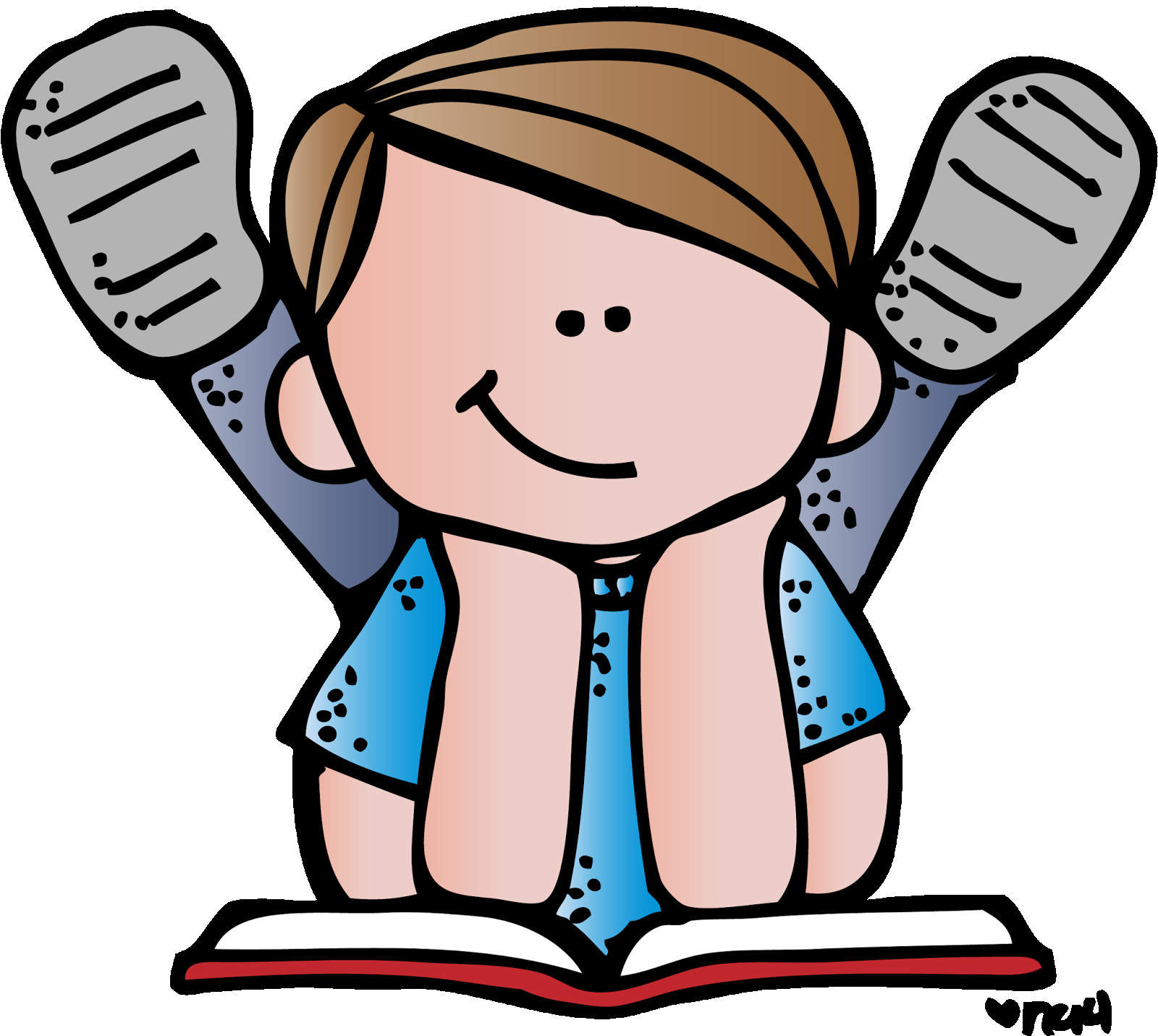 1600x1431 Free Educational Clipart Clip Art Children Reading Books 202