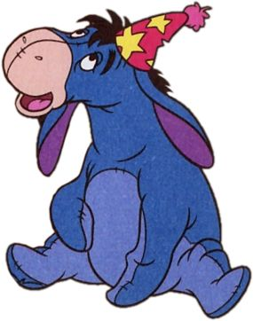 285x362 Happy Eeyore Happy Birthday Stratego. Look To The Sky, But Don'T