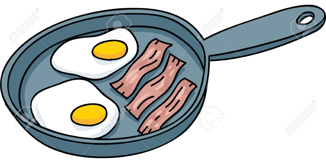 1300x650 Fried Egg Clipart Eggs And Bacon