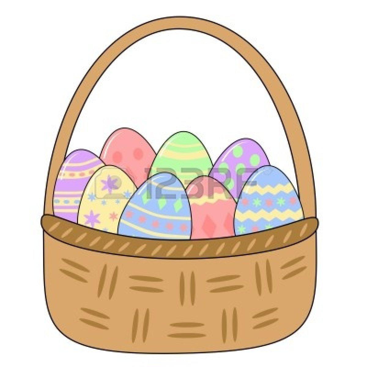 1200x1200 Basket Full Of Eggs Clip Art