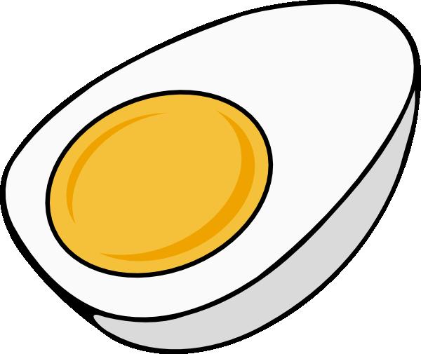 600x505 Half Egg Clip Art