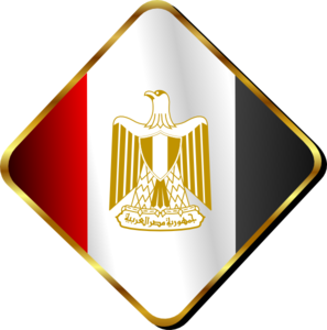 297x300 Egypt Flag Pin Clip Art
