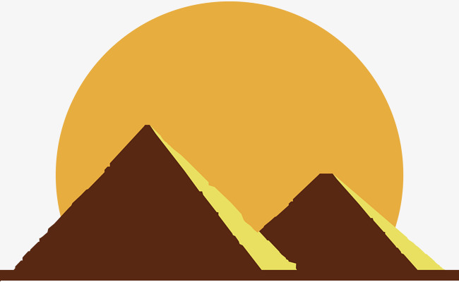 650x400 Egyptian Pyramids Flat, Pyramid, Flat, Egypt Png Image And Clipart