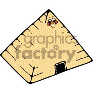300x300 Royalty Free Egyptian Pyramid 002 C 405035 Vector Clip Art Image