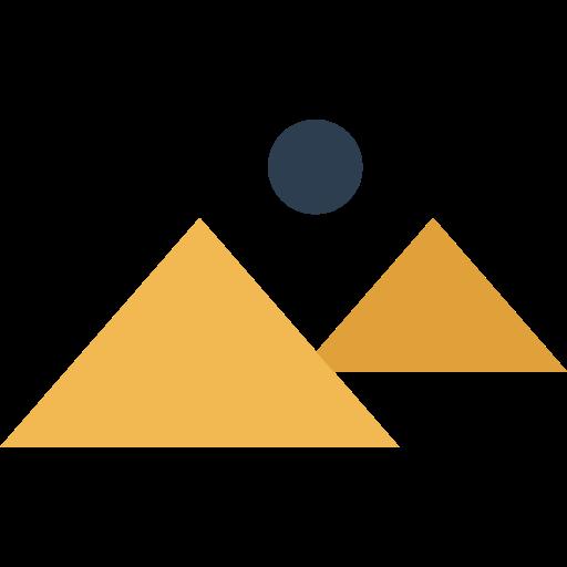 512x512 Egypt, Landscape, Pyramid, Desert, Egyptian, Pyramids, Monuments Icon