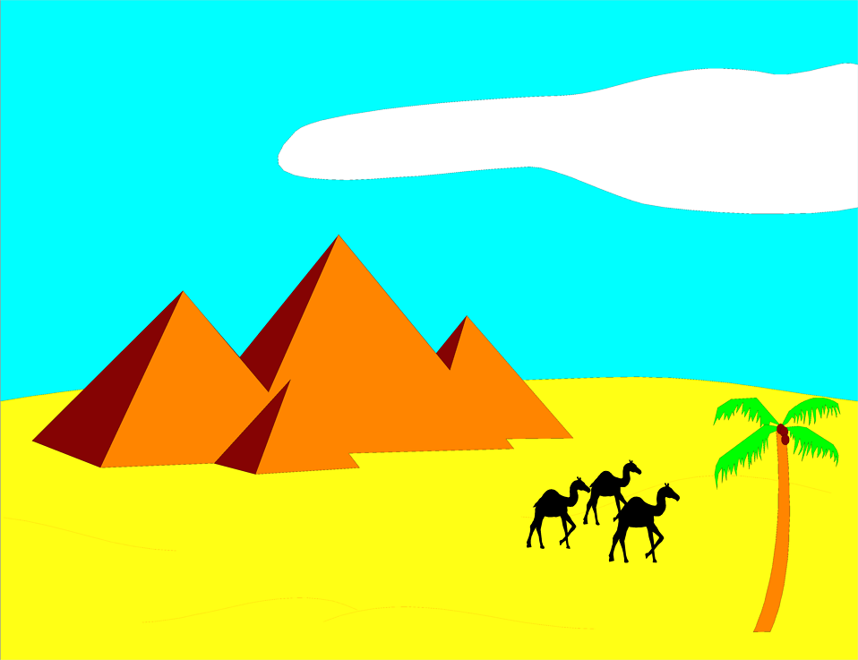 958x737 Egyptian Queen Clipart Egyptian Pyramid