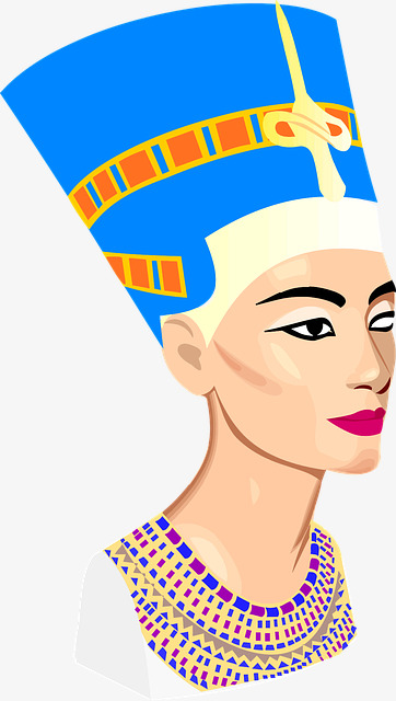 362x640 Nefertiti Avatar, Egypt, Culture, Element Png Image And Clipart